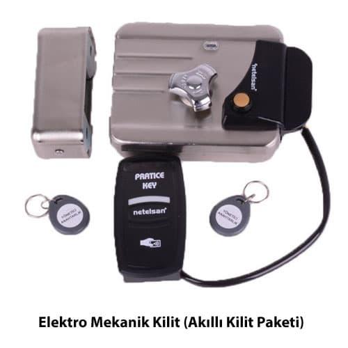 elektro-mekanik-kilit-akilli-kilit-paketi-gumus