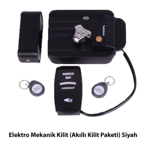 elektro-mekanik-kilit-akilli-kilit-paketi-siyah