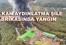Alkan Aydınlatma Şile Fabrika Yangını