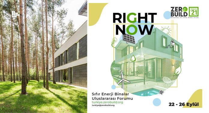 Sıfır Enerjili Binalar Uluslararası Forumu Türkiye